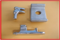 Truck parts made of stainless steel